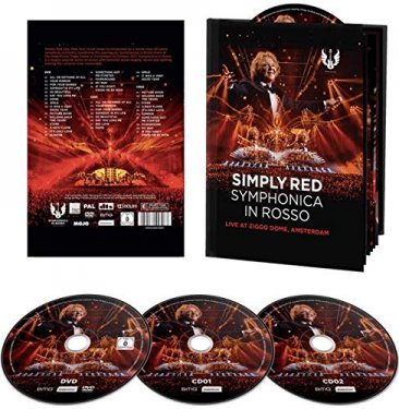 Symphonica In Rosso 2CD & DVD Book