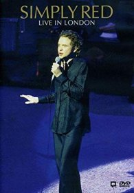 Simply Red Live In London DVD - PAL Format