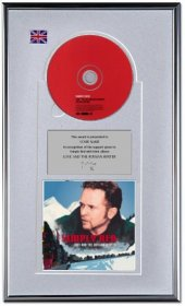 Simply Red Personalised Award 'Love And The Russian'