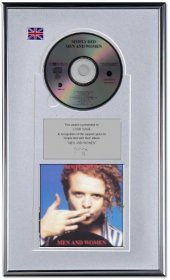 Simply Red Personalised Award 'Men And Women'