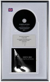 Simply Red Personalised Award 'Simplified'