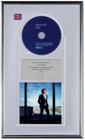 Simply Red Personalised Award 'Stay'