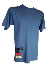 Blue 2006 Tour T Shirt
