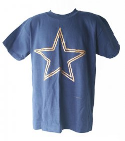 Navy Stars Children's T Shirt
