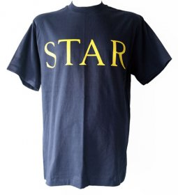Navy Star T Shirt 1
