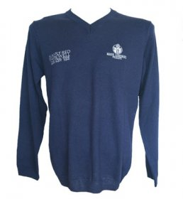 Navy Farewell Sweater
