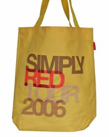 Simply Red Tour Bag