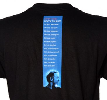 Black Home Tour T Shirt