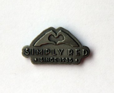 Big Love Pin Badge